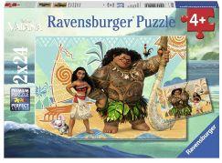 Ravensburger Puzzle 91560 Disney Vaiana 2x24 dílků