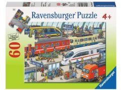 Ravensburger Puzzle 96107 Železniční stanice 60 dílků