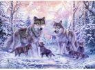 Ravensburger Puzzle Arktičtí vlci 1000 dílků 2