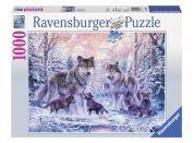 Ravensburger Puzzle Arktičtí vlci 1000 dílků