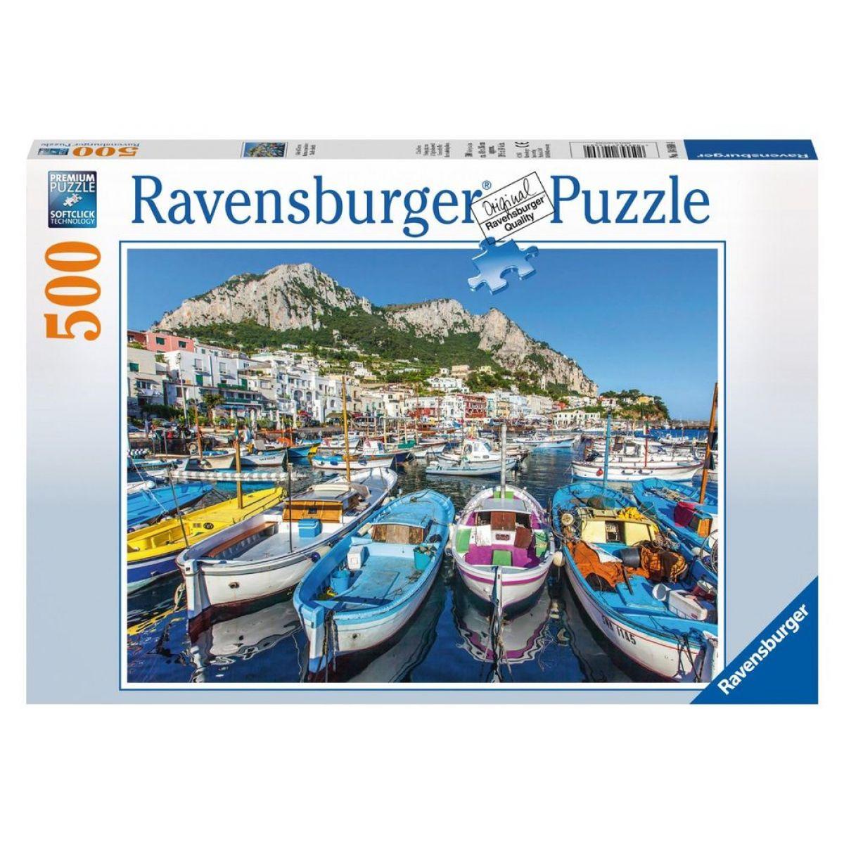 Ravensburger Puzzle Barevná Marina 500 dílků