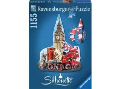 Ravensburger puzzle Big Ben silueta 1155 dílků