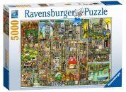 Ravensburger Puzzle Bizarní město 5000 dílků