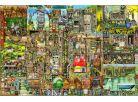 Ravensburger Puzzle Bizarní město 5000 dílků 2