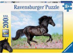 Ravensburger puzzle Černý hřebec 200 dílků