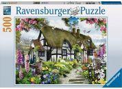 Ravensburger Puzzle Chalupa 500dílků