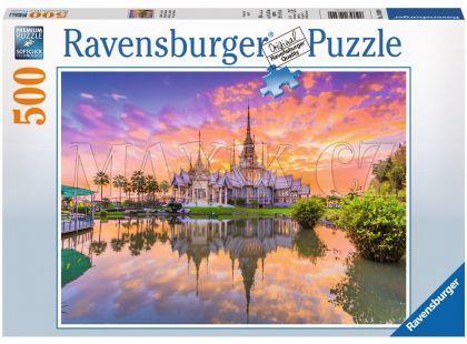 Ravensburger Puzzle Chrám 500dílků