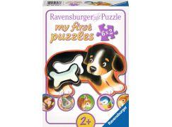 Ravensburger puzzle Delikátní pochoutka 6x2 dílků