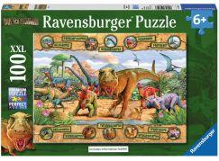 Ravensburger Puzzle Dinosauři 100XXL dílků