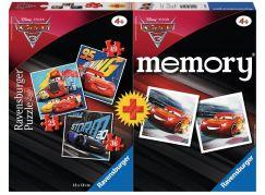 Ravensburger Puzzle Disney 69262 Auta 3 mini memory + puzzle 25,36,49 dílků
