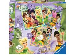 Ravensburger Puzzle Disney Fairies Zvonilka 3v1