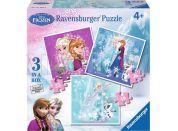 Ravensburger Puzzle Disney Ledové království 3v1