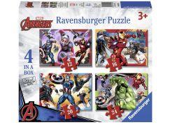 Ravensburger Puzzle Disney Marvel Avengers 4x puzzle v boxu