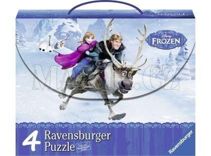 Ravensburger Puzzle Disney Puzzle Ledové království 4v1
