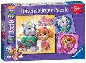 Ravensburger Puzzle Disney Tlapková patrola 3x49 dílků