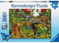Ravensburger puzzle Divoká džungle 100 dílků