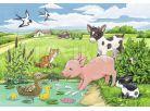 Ravensburger Puzzle Domácí zvířátka 2x12 dílků 2