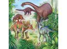 Ravensburger Puzzle Fascinující dinosauři 3x 49 dílků 3