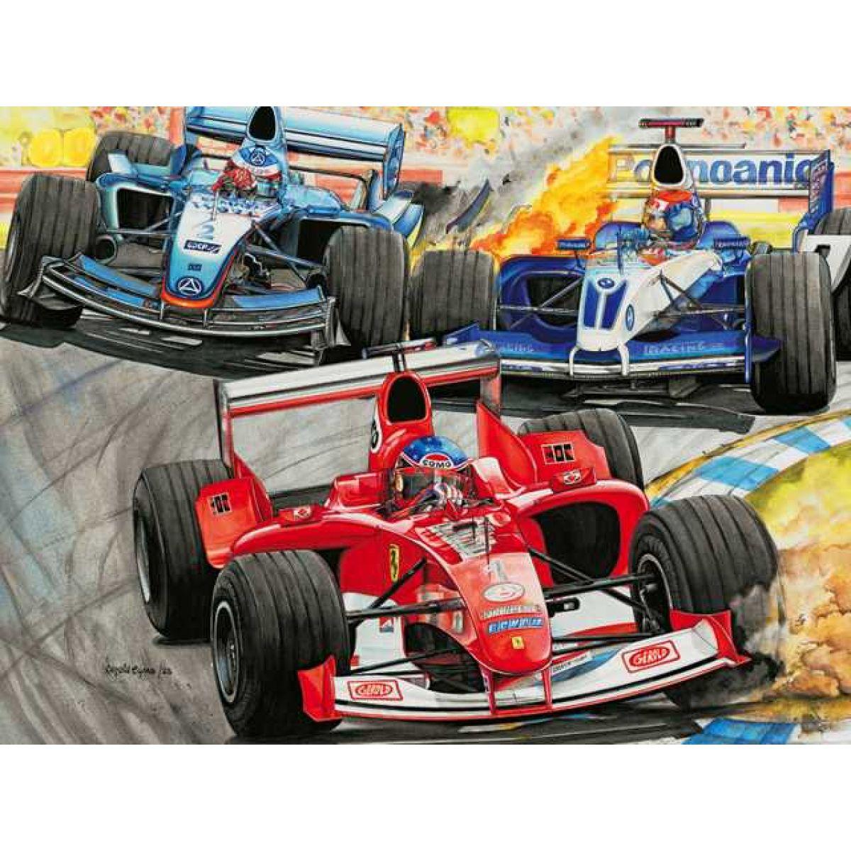 Ravensburger puzzle Formule 1 300d.