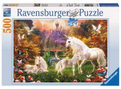 Ravensburger Puzzle Jednorožci 500 dílků