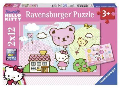 Ravensburger Puzzle Kitty se vznáší 2x12 dílků
