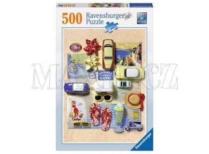 Ravensburger Puzzle Léto v Itálii 500 dílků
