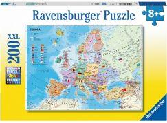 Ravensburger Puzzle Mapa světa 200 dílků