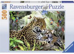 Ravensburger Puzzle Mládě jaguára 500 dílků