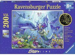 Ravensburger puzzle Mořská panna 200 dílků