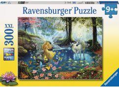 Ravensburger puzzle Mystické setkání 300 dílků