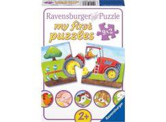 Ravensburger puzzle Na statku 9x2 dílků