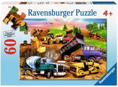 Ravensburger puzzle Na stavbě 60 dílků