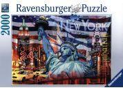 Ravensburger Puzzle New York koláž 2000dílků
