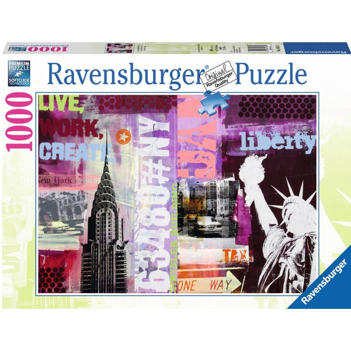 Ravensburger Puzzle New York koláž 1000dílků