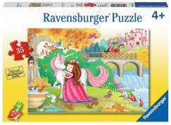 Ravensburger Puzzle Odpoledne pryč 35 dílků