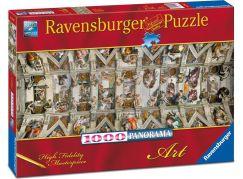 Ravensburger puzzle Panorama 150625 Sixtinská kaple 1000 dílků