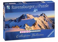 Ravensburger Puzzle Panorama 150809 Monte Bianco 1000 dílků