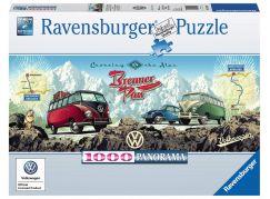 Ravensburger Puzzle Panorama 151028 VW 1000 dílků