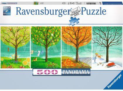 Ravensburger Puzzle Panorama Roční období 500dílků