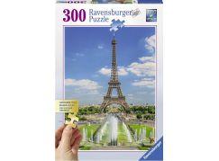 Ravensburger puzzle Pohled na Eiffelovu věž 300 velkých dílků