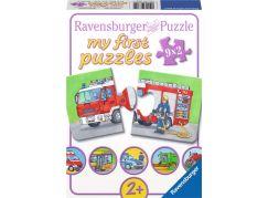 Ravensburger Puzzle Pohotovostní vozidla 9x2 dílků