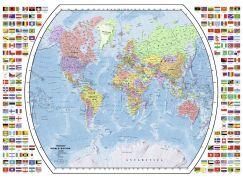 Ravensburger Puzzle Politická mapa světa 1000dílků