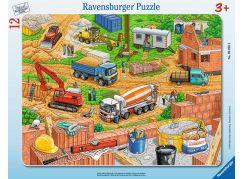 Ravensburger puzzle Práce na staveništi 12 dílků