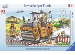 Ravensburger Puzzle Práce na ulici 15 dílků