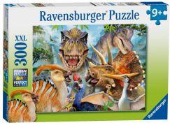 Ravensburger Puzzle Premium Dino Selfies 300XXL dílků