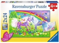 Ravensburger Puzzle Premium Koně 2x24 dílků