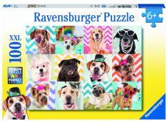 Ravensburger Puzzle Premium Psi 100XXL dílků