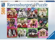 Ravensburger Puzzle Psí kamarádi 500 dílků