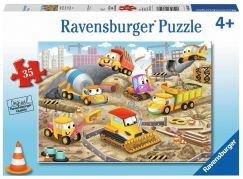 Ravensburger Puzzle Raise the Roof! 35 dílků