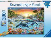 Ravensburger Puzzle Ráj kosatek 200XXL dílků